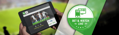 Enjoy the live streaming service at Unibet